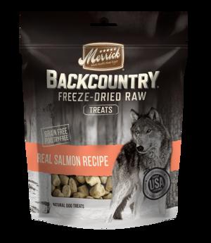 Merrick Backcountry Freeze-Dried Raw Real Salmon Recipe Treats
