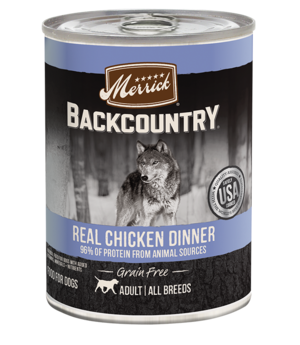 Merrick Backcountry Grain Free 96% Real Chicken