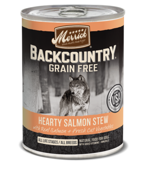 Merrick Backcountry Grain Free Hearty Salmon Stew