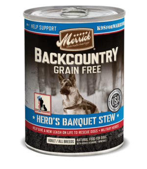 Merrick Backcountry Grain Free Hero's Banquet Stew