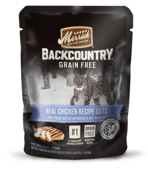 Merrick Backcountry Grain Free Real Chicken Recipe Cuts