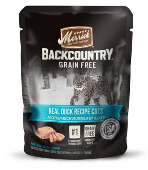 Merrick Backcountry Grain Free Real Duck Recipe Cuts