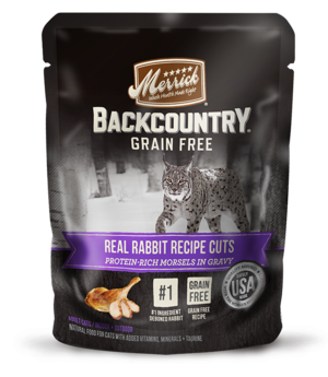 Merrick Backcountry Grain Free Real Rabbit Recipe Cuts
