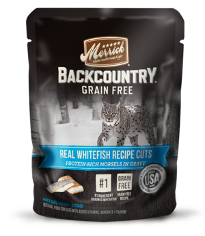 Merrick Backcountry Grain Free Real Whitefish Recipe Cuts