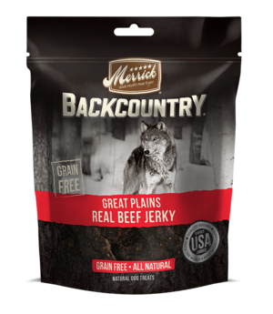 Merrick Backcountry Great Plains Real Beef Jerky