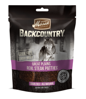 Merrick Backcountry Great Plains Real Steak Patties