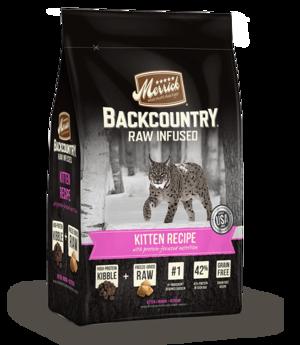 Merrick Backcountry Raw Infused Kitten Recipe