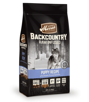 Merrick Backcountry Raw Infused Puppy Recipe