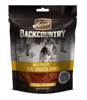 Merrick Backcountry Wild Fields Real Chicken Jerky