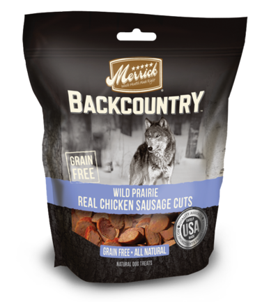 Merrick Backcountry Wild Fields Real Chicken Sausage Cuts