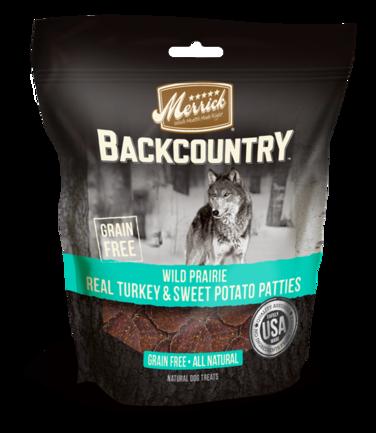 Merrick Backcountry Wild Prairie Real Turkey and Sweet Potato Patties