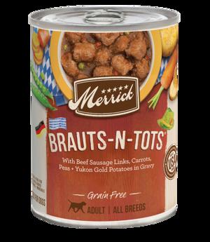 Merrick Classic Recipe Brauts-N-Tots