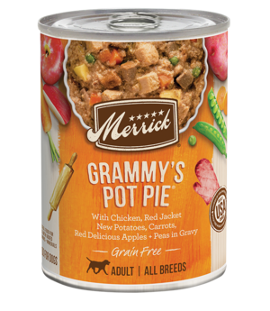 Merrick Classic Recipe Grammy's Pot Pie For All Breeds