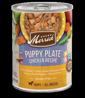 Merrick Classic Recipe Puppy Plate