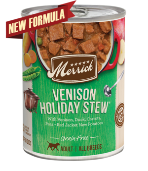 Merrick Grain Free Venison Holiday Stew