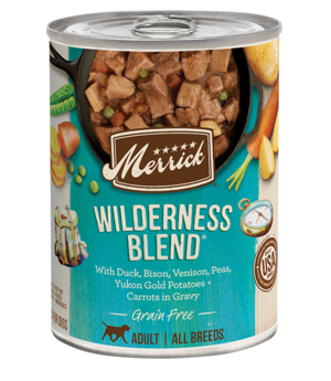 Merrick Classic Recipe Wilderness Blend