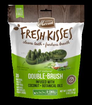 Merrick Fresh Kisses Double-Brush Coconut + Botanical Oils For Extra Small Dogs