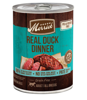Merrick Grain Free 96% Real Duck