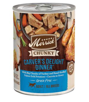 Merrick Grain Free Chunky Carver's Delight Dinner