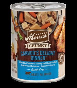 Merrick Grain Free Chunky Carver's Delight Dinner
