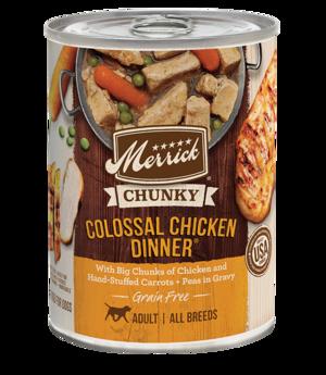Merrick Grain Free Chunky Colossal Chicken Dinner