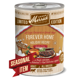 Merrick Limited Edition Forever Home Holiday Recipe