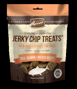 Merrick Jerky Chip Treats Real Salmon + Potato Recipe