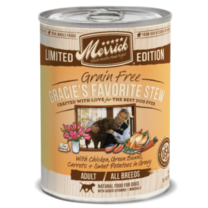 Merrick Limited Edition Gracie's Favorite Stew
