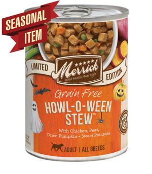Merrick Limited Edition Howl O' Ween Stew