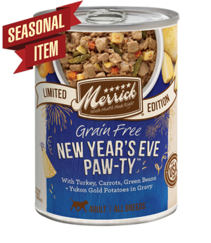 Merrick Limited Edition New Year's Eve Paw-Ty