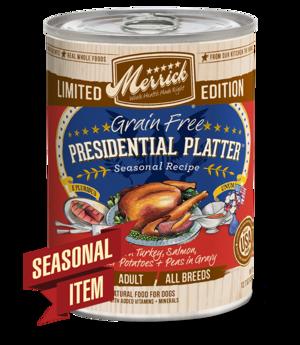 Merrick Limited Edition Presidential Platter