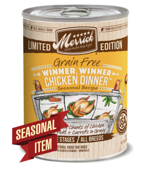 Merrick Limited Edition Winner, Winner Chicken Dinner