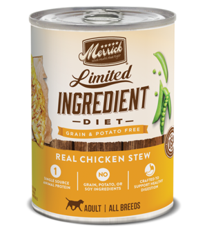 Merrick Limited Ingredient Diet Real Chicken Stew
