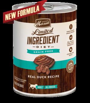 Merrick Limited Ingredient Diet Real Duck Recipe