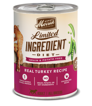 Merrick Limited Ingredient Diet Real Turkey Recipe