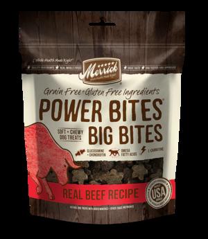 Merrick Power Bites Big Bites Real Beef Recipe