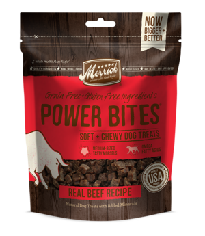 Merrick Power Bites Real Beef Recipe
