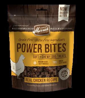 Merrick Power Bites Real Chicken Recipe