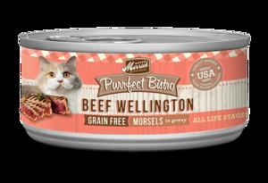 Merrick Purrfect Bistro Beef Wellington Morsels In Gravy