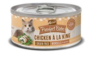 Merrick Purrfect Bistro Chicken A La King Morsels In Gravy