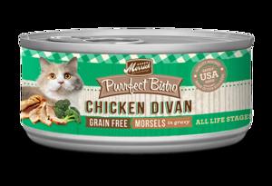 Merrick Purrfect Bistro Chicken Divan Morsels In Gravy