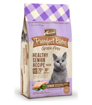Merrick Purrfect Bistro Healthy Senior Recipe