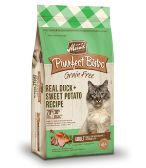 Merrick Purrfect Bistro Real Duck + Turkey Recipe