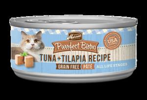 Merrick Purrfect Bistro Tuna + Tilapia Pate