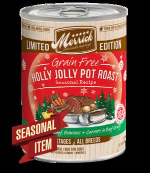 Merrick Limited Edition Holly Jolly Pot Roast