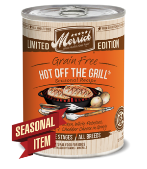 Merrick Limited Edition Hot Off The Grill
