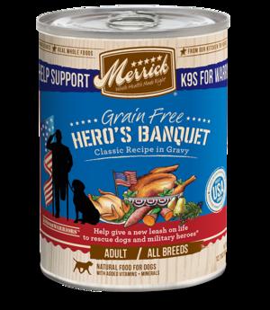 Merrick Classic Recipe In Gravy Hero's Banquet