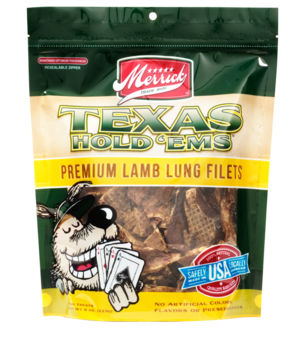 Merrick Texas Hold 'Ems Premium Lamb Lung Filets