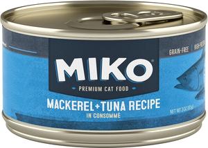 Miko Premium Cat Food Mackerel + Tuna Recipe In Consomme