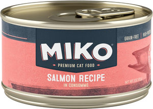 Miko Premium Cat Food Salmon Recipe In Consomme